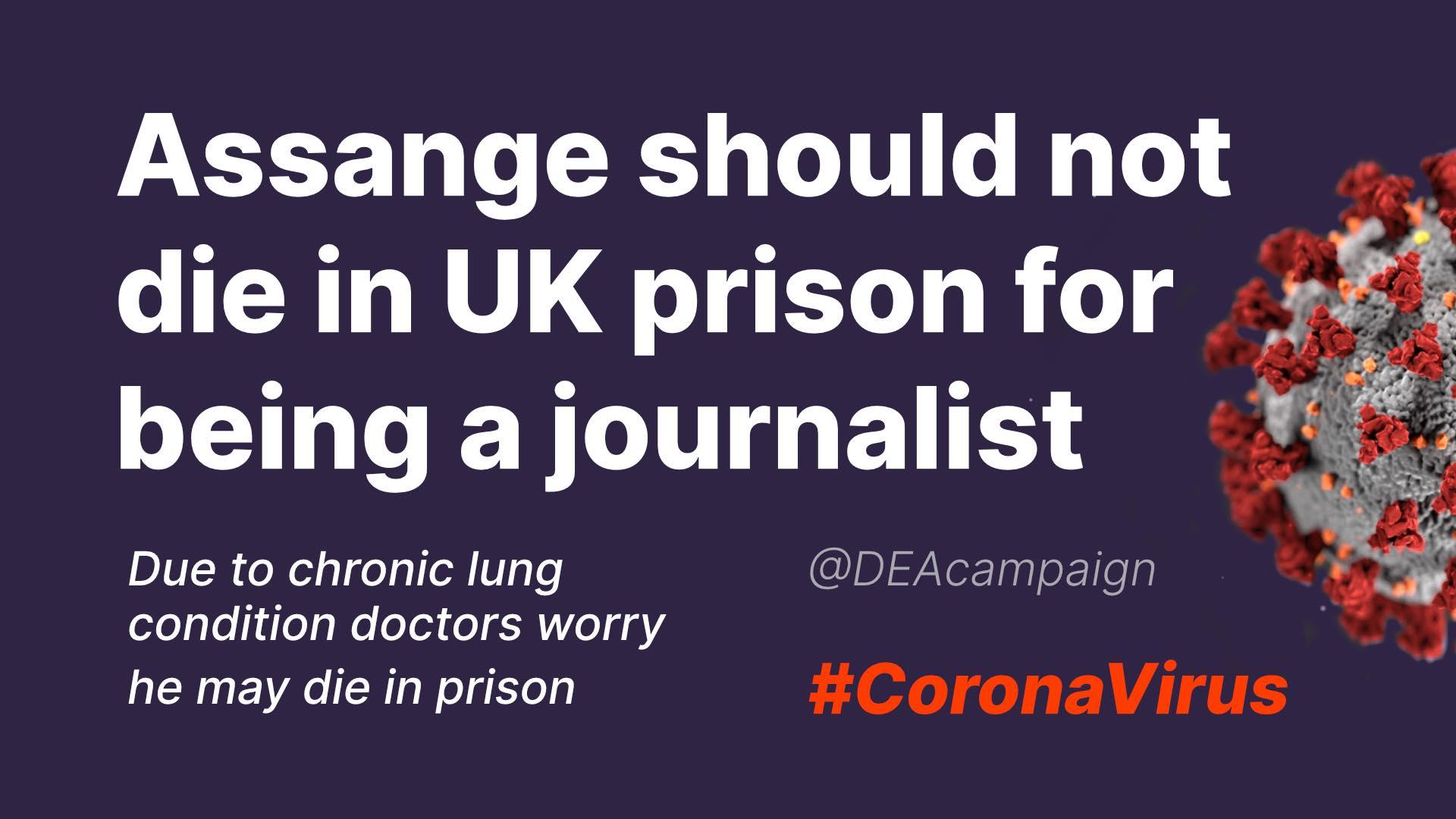 DEA Coronavirus Prison flyer