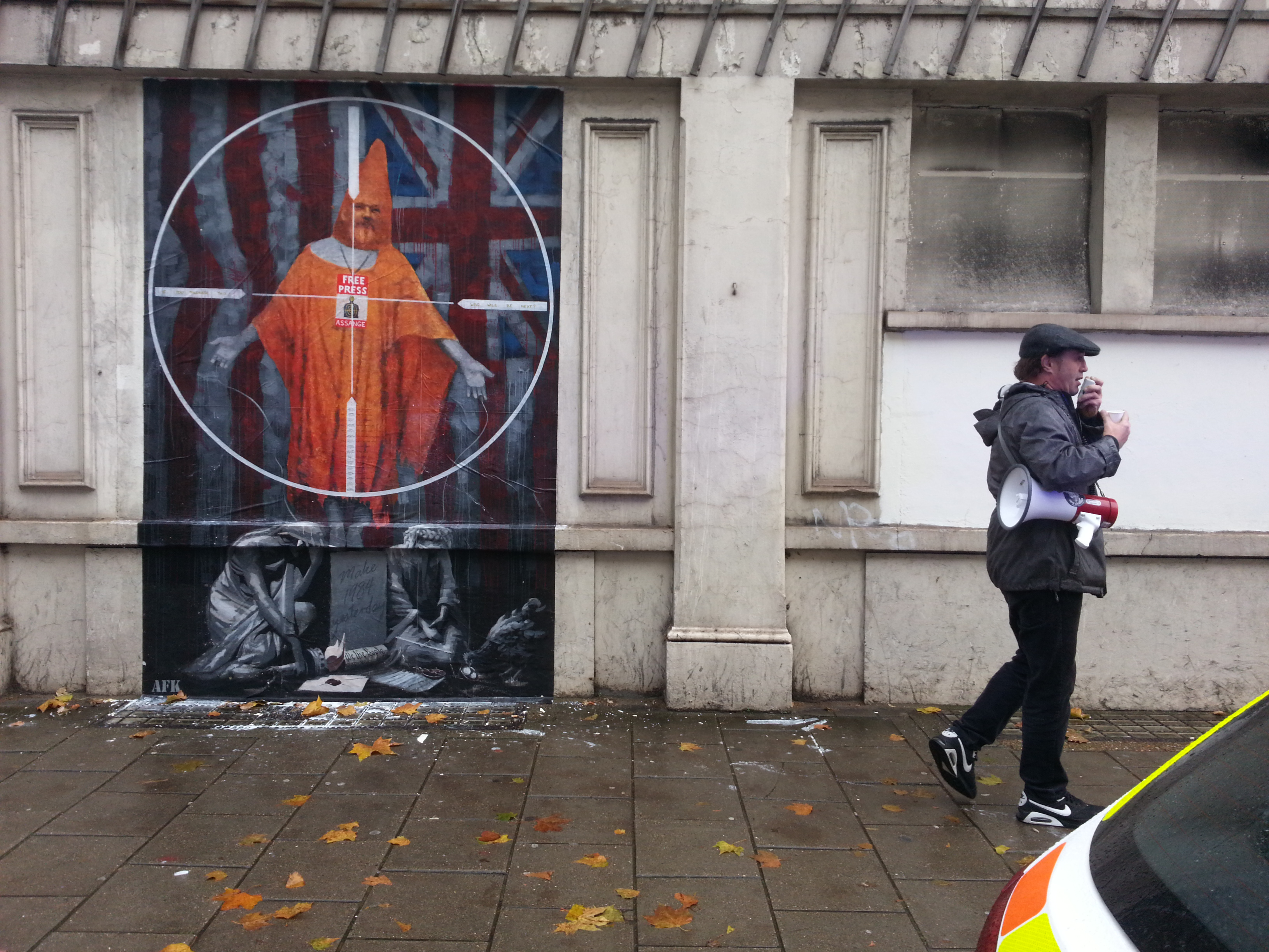Persecution - AFK (Norwegian street artist)