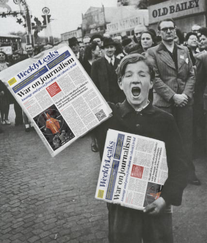 """WeeklyLeaks Souvernir Edition! War on Journalism!"""